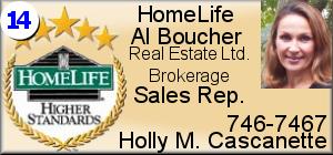 Holly M. Cascanette - Homelife - Al Boucher Real Estate Ltd.
